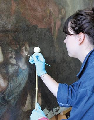 Conservation Restauration Des Oeuvres D Art école