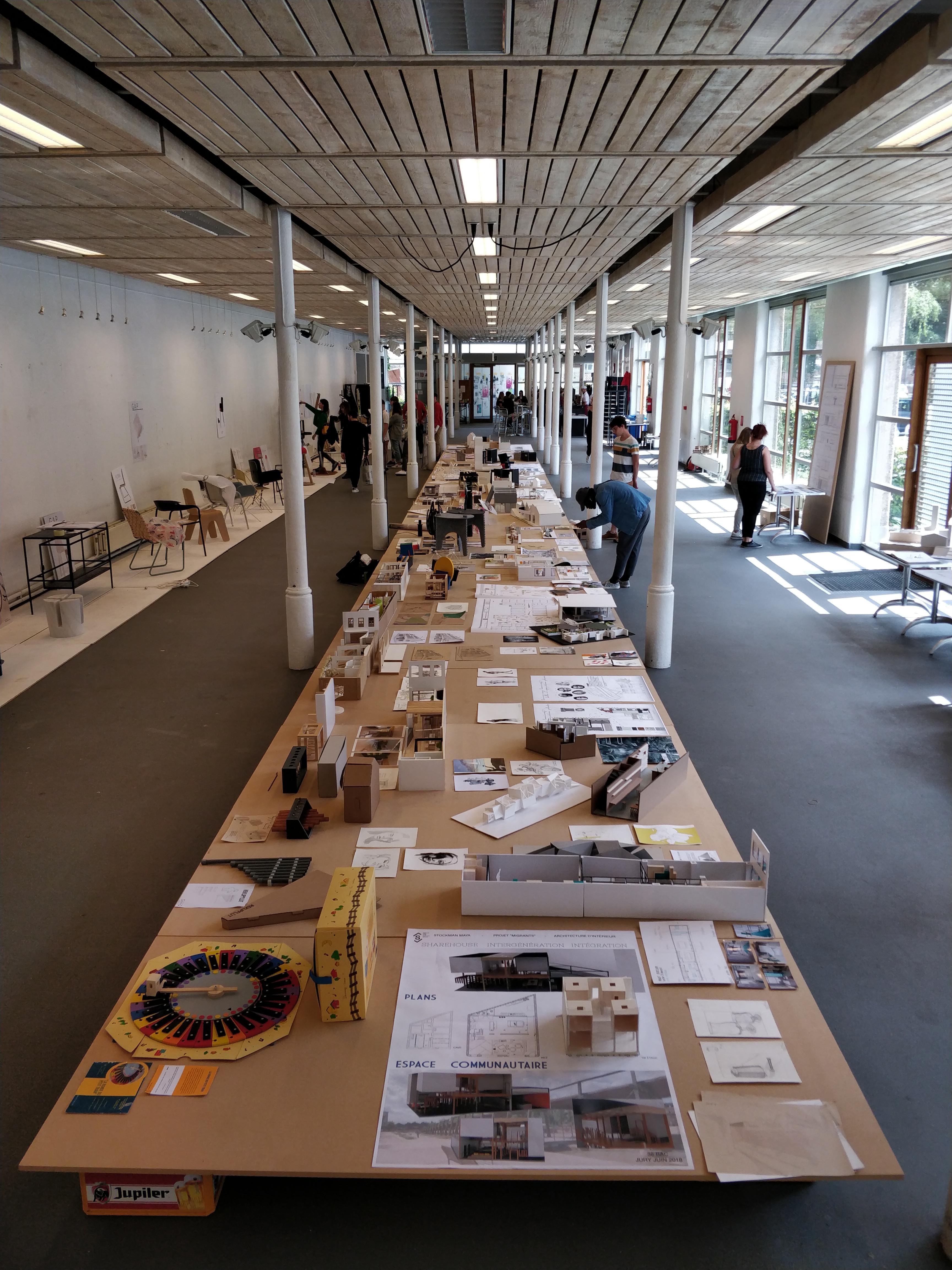 Architecte D Intérieur En Belgique architecture d'intérieur   École supérieure des arts - saint